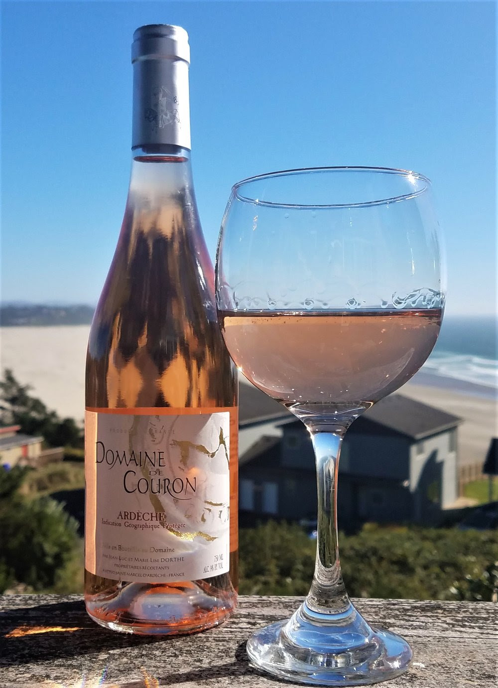 Image result for domaine couron rose wine