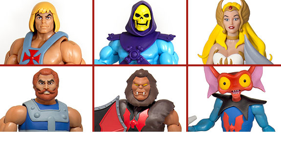 MASTERS OF THE UNIVERSE CLUB GRAYSKULL ULTIMATE & CLASSIC FIGURES