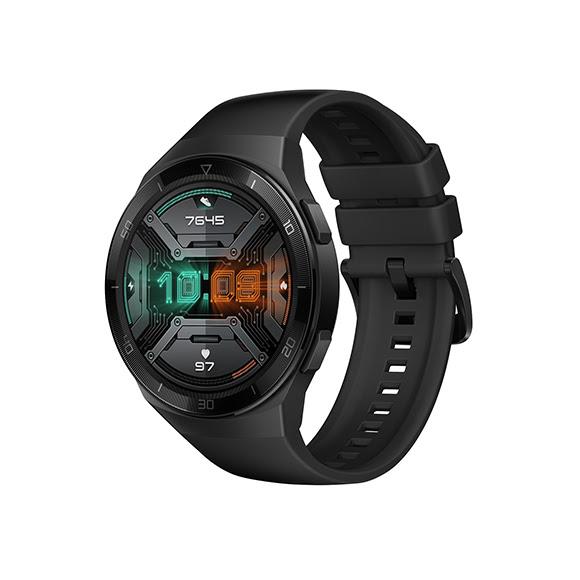 TV, konzol, monitor, tablet akció - Huawei Watch GT 2e okosóra, grafit fekete