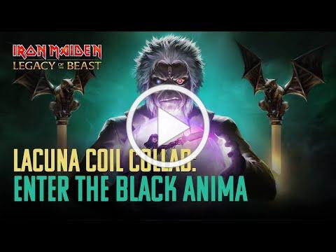 Iron Maiden: Legacy of the Beast & Lacuna Coil Collab - Enter the Black Anima!