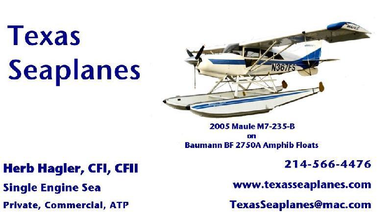Texas Sea Planes