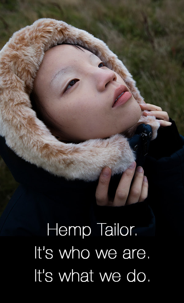 Hemp Tailor. It's who we are. It's what we do.