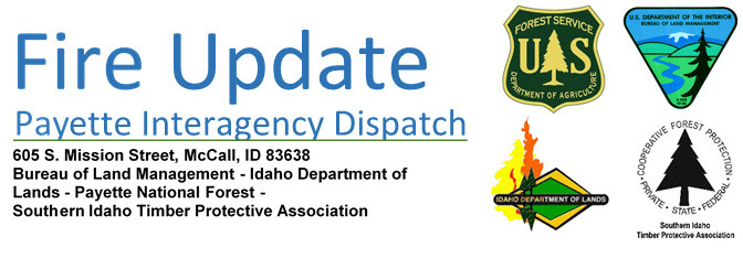 Fire Information Header for Payette Fire Dispatch