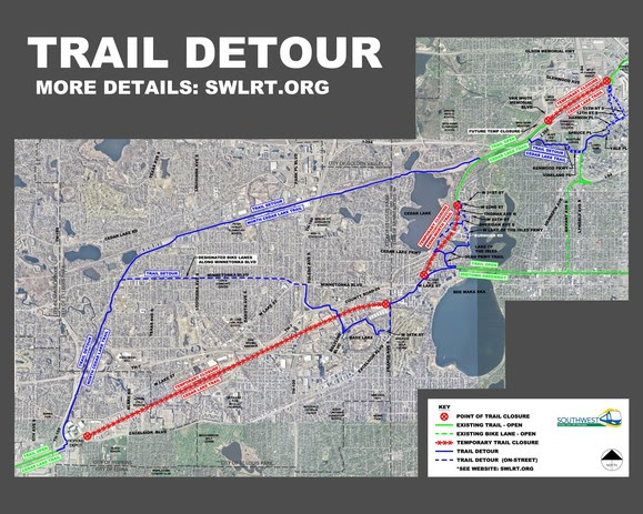 SWLRT Detour Map 20190531