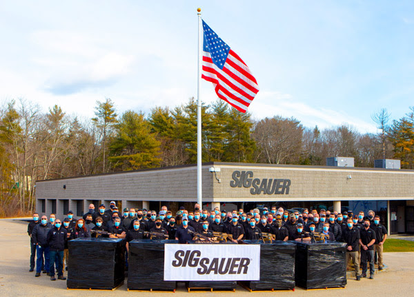 Sig sauer team shipping the ngsw-ar machine guns automatic rifles