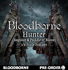 1/6 SCALE BLOODBORNE STATUES