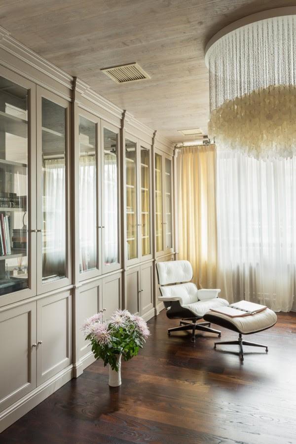 λευκό-Eames-σαλόνι-καρέκλα