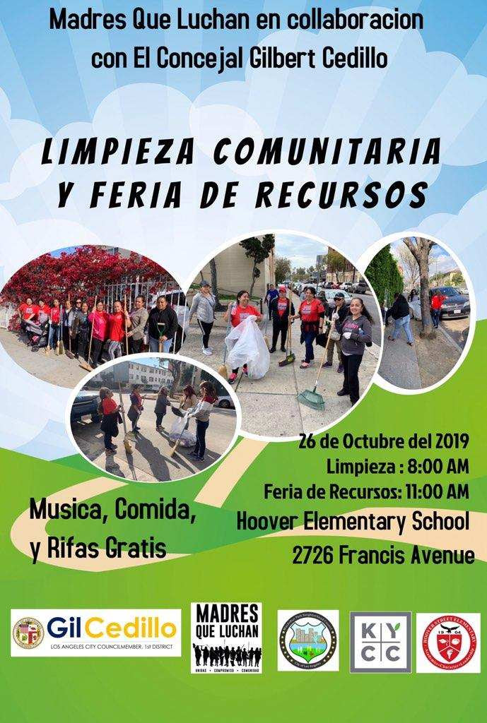 Hoover Clean Up SPANISH 10-26-19