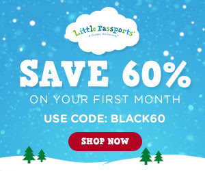 Little Passports: 60% off the.