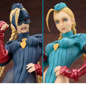BISHOUJO STREET FIGHTER CAMMY & DECAPRE