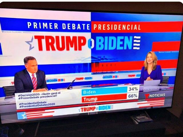 Telemundo Debate Watchers