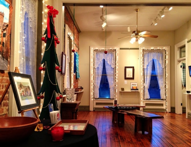 The Red Brick Holiday Art Show and Exhibit @ Red Brick Gallery | Parker | Pennsylvania | United States