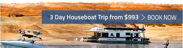 3 DAY HOUSEBOAT TRIP FROM $993 - BOOK NOW