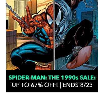 Spider-Man: The 1990s Sale: up to 67% off! Sale ends 8/23.