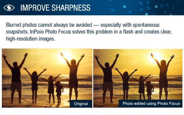InPixio Photo Focus Improve Sharpness