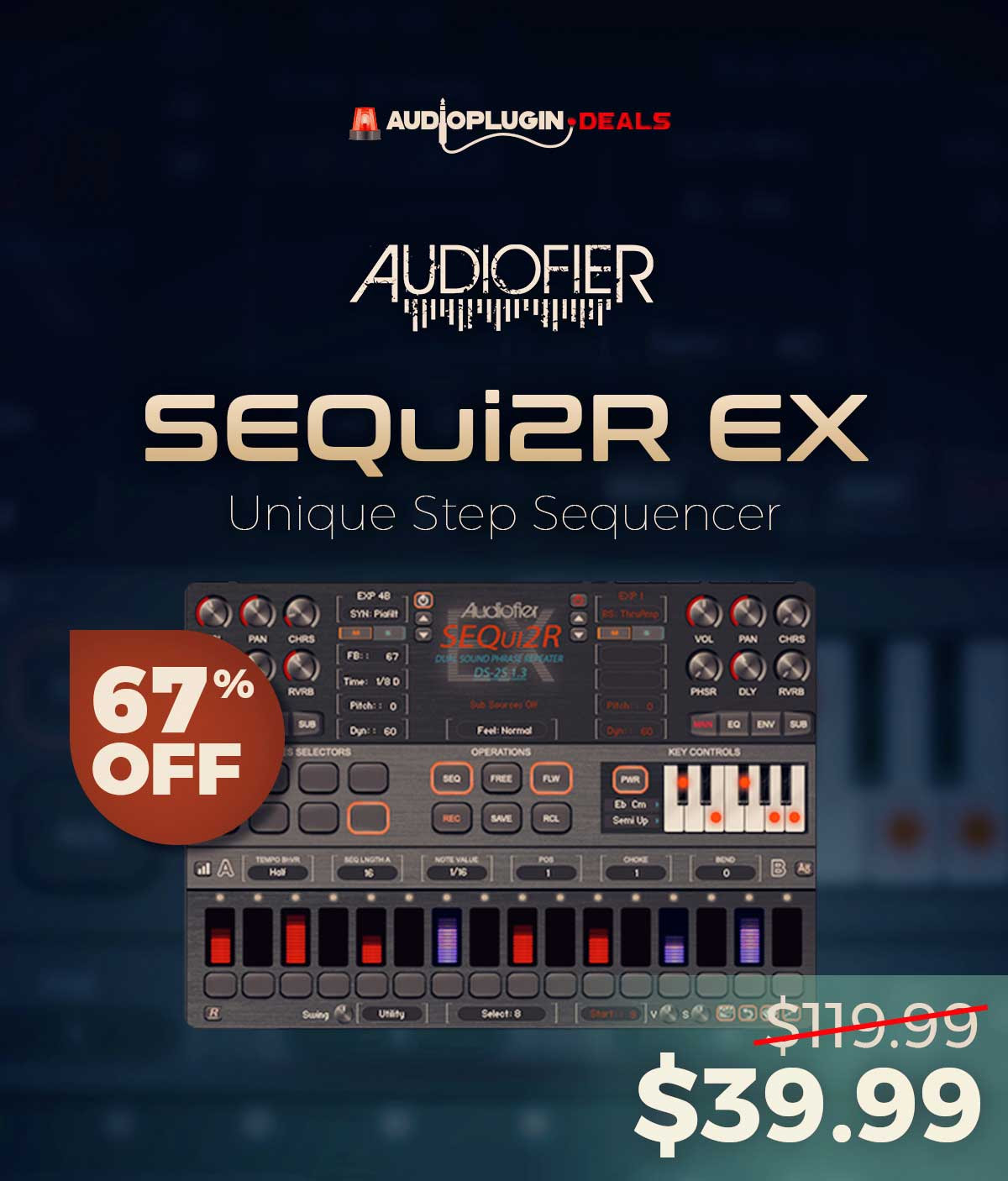 67% Off Audiofier SEQui2R EX Discount