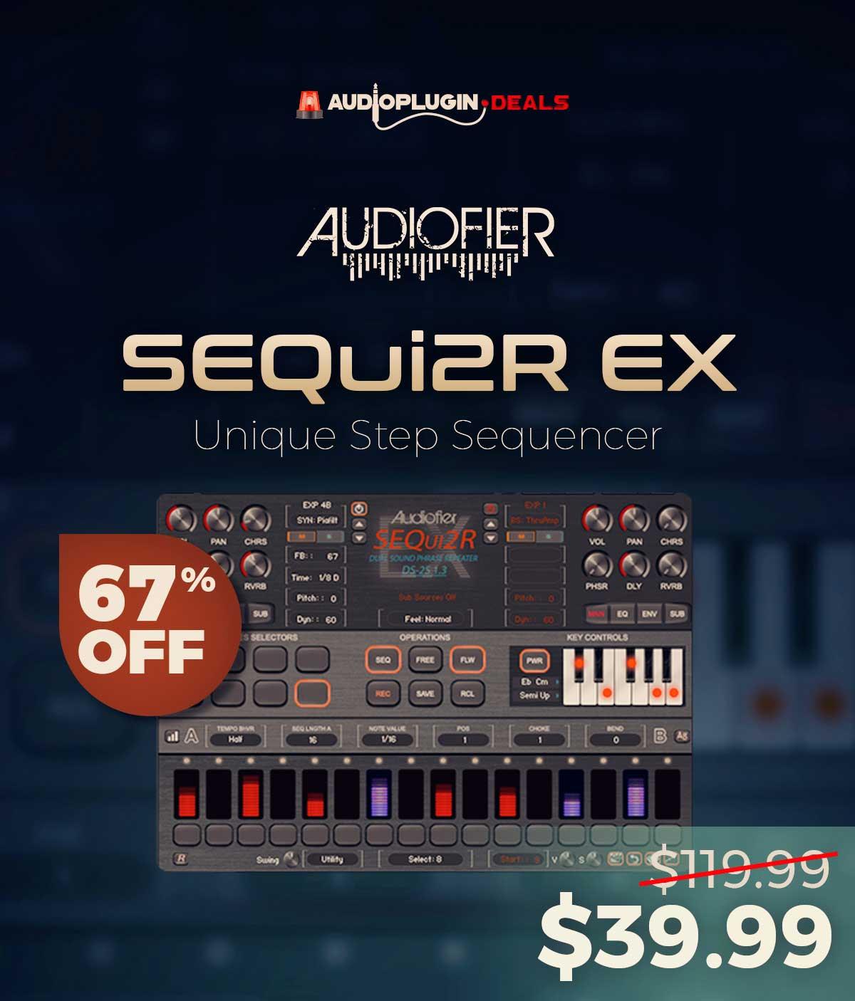 67% Off Audiofier SEQui2R EX Discount