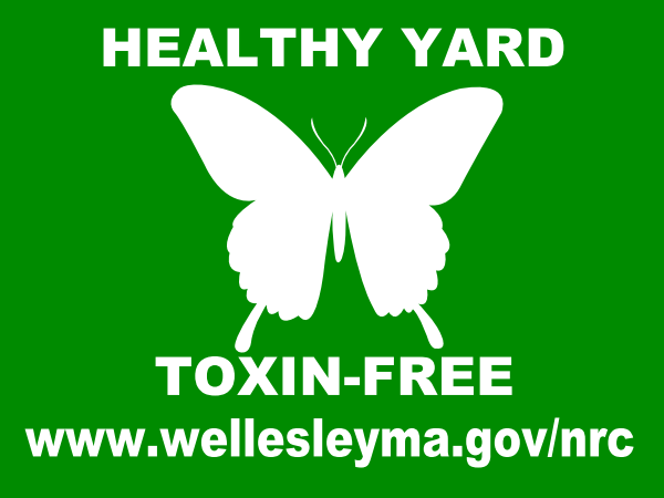 healthy lawn sign front