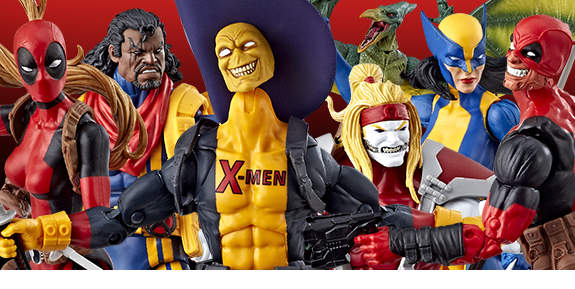 DEADPOOL/X-MEN MARVEL LEGENDS SAURON BAF