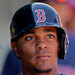 Xander Bogaerts has always worked hard at baseball, even if it meant breaking some things inside the house.
