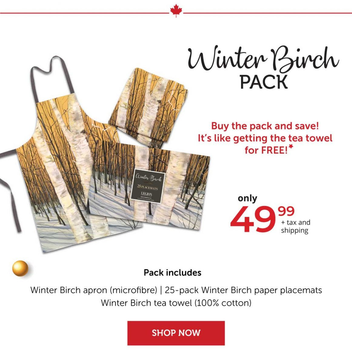 Winter Birch Pack