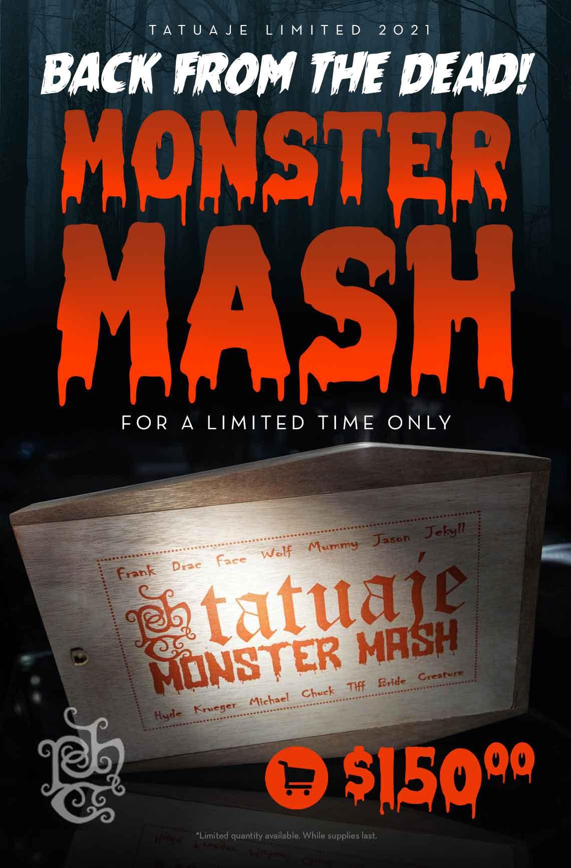 Tatuaje Monster Mash Sampler