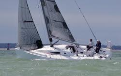 J/11S sailing off La Rochelle, France