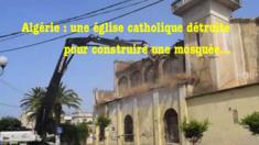 Une église détruite et remplacée par une mosquée