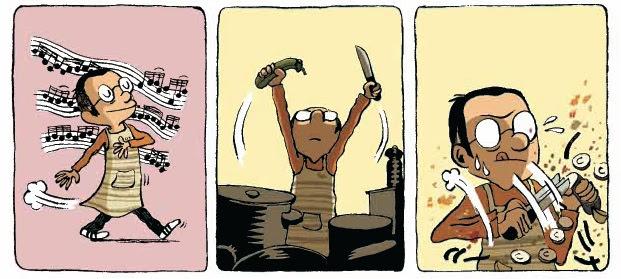 """""""Cotto a puntino"""": le ricette a fumetti di Guillaume Long, in libreria per Bao Publishing"""