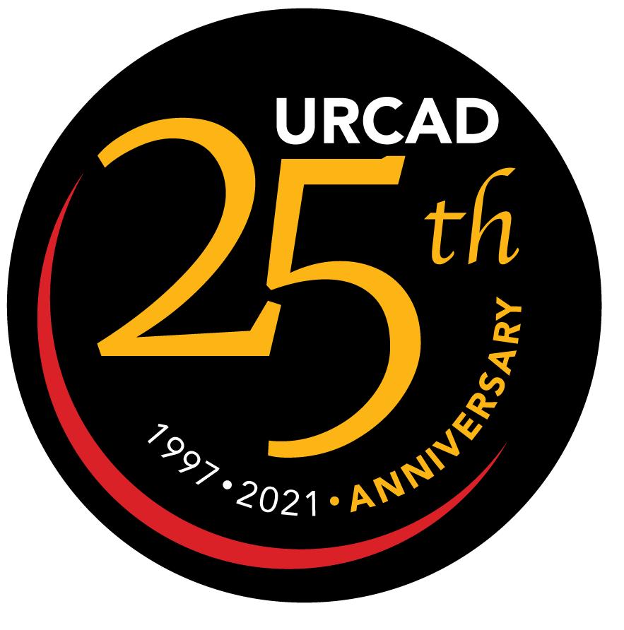 URCAD 25th Anniversary Logo