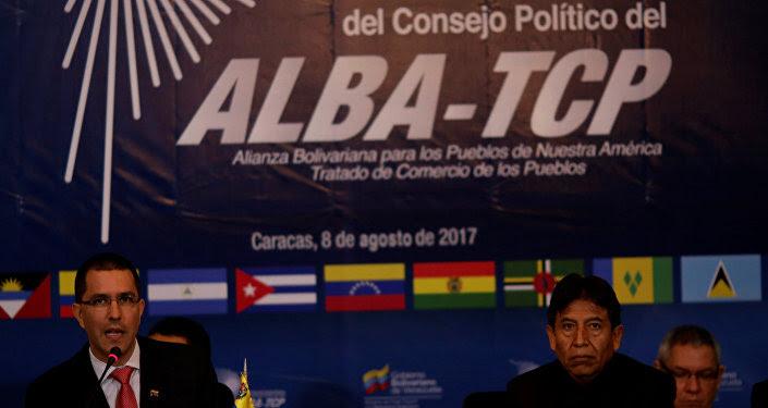 La VI Reunión Extraordinaria del Consejo Político de la ALBA-TCP en Caracas, Venezuela