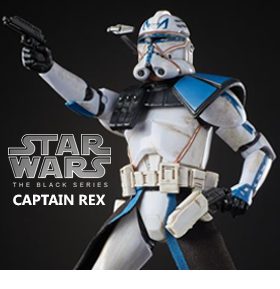 BLACK SERIES CAPTAIN REX
