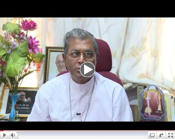 Bishop of Pune for The Moment of Calm