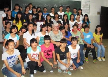 Qinzhou No. 1 High Schoo Students