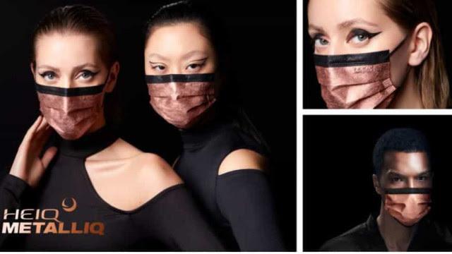 Máscara de alta tecnologia desativa o SARS-CoV-2 em cinco minutos