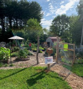 The Learning Garden at Buncombe Extension Center