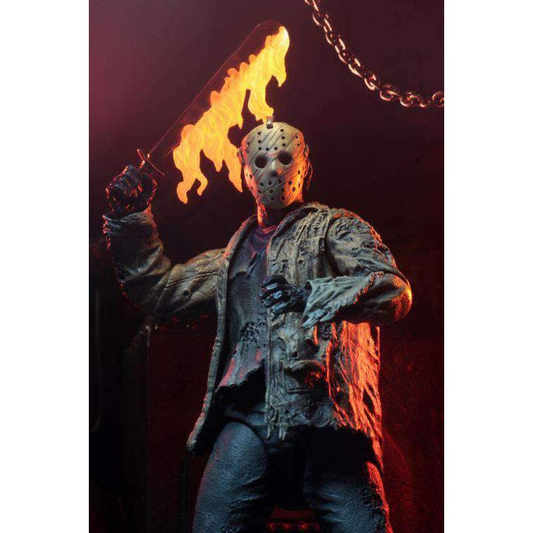 Image of Freddy vs. Jason Ultimate Jason Voorhees Figure