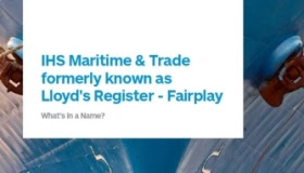 IHS Maritime and Trade