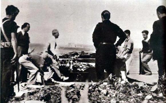Exhumación Primo de Rivera_Cementerio de Alicante abril 1939_06