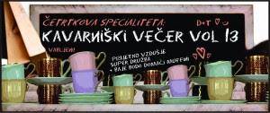 kavarniški večer vol. 13