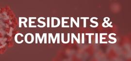 Residents & Communities Button