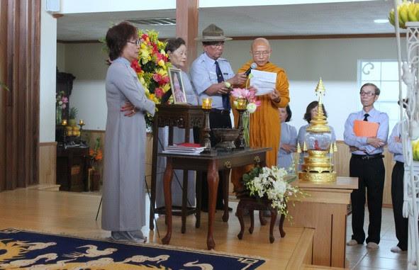 Hoà thượng Thích Huyền Việt đọc Tâm Thư của Viện Hoá Đạo