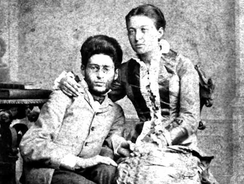 Eliezer and Devora Ben Yehuda 1882