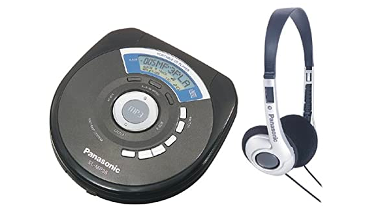 Panasonic MP3 CD player