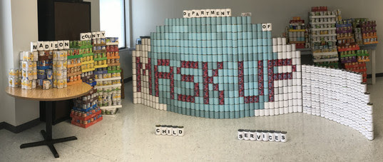 Canstruction 2021 Madison County DCS