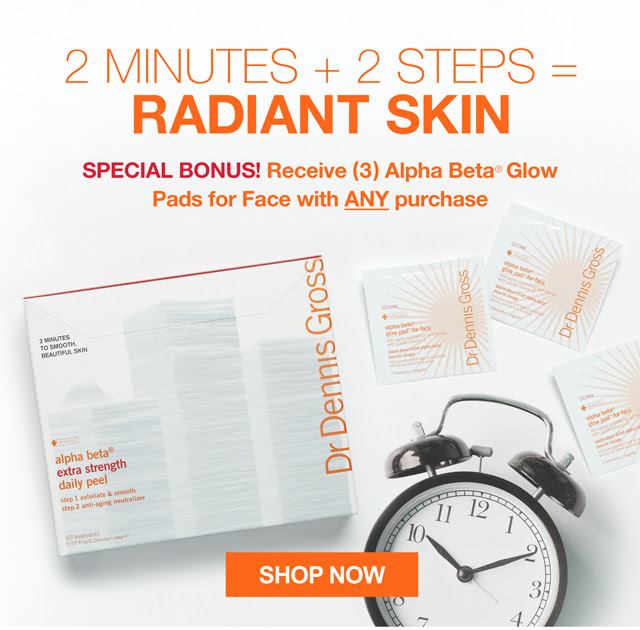 Receive a free 3-piece bonus gift with your Dr Dennis Gross purchase
