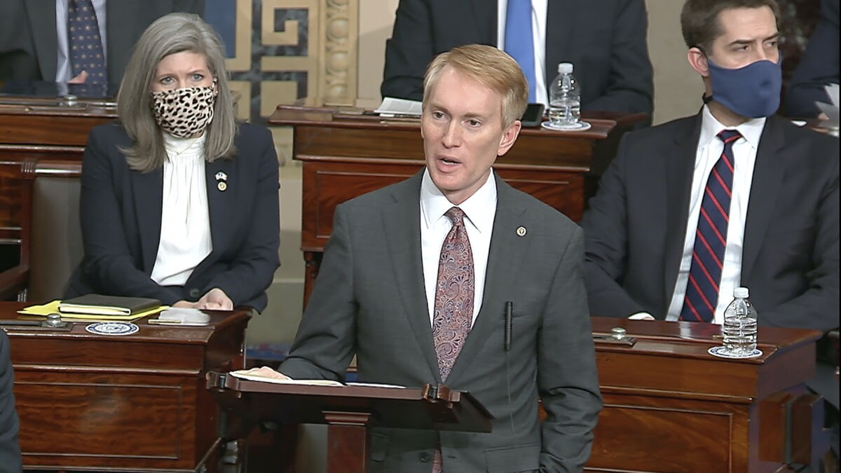 James Lankford's election-truther challenger gets 'unheard of' boost from GOP officials