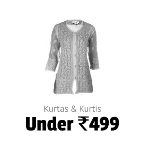 Kurtas and Kurtis under Rs.499