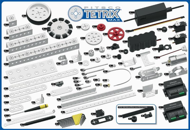 TETRIX WRO Challenge Full Set