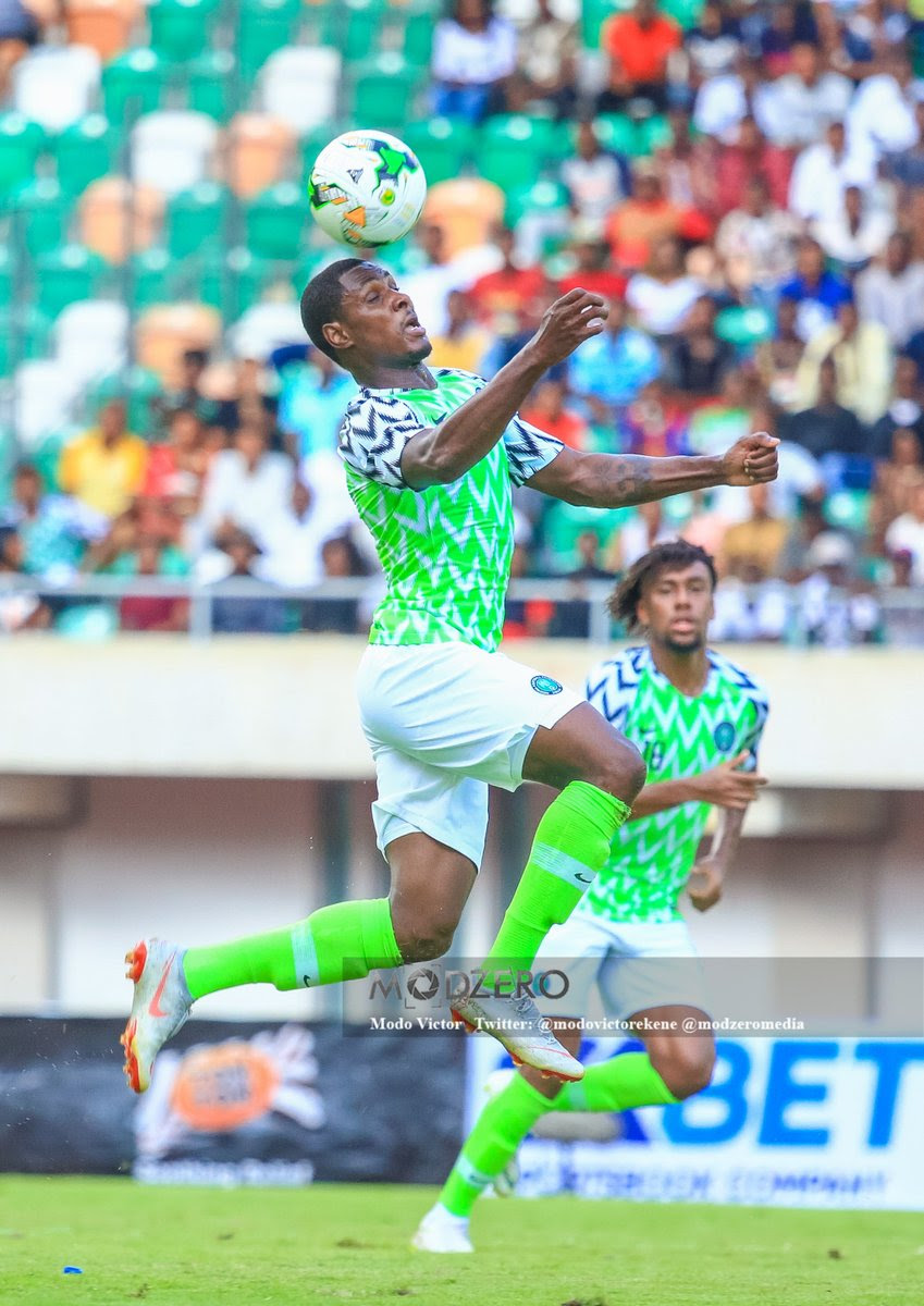 Odion Ighalo has six goals in the AFCON 2019 qualifiers